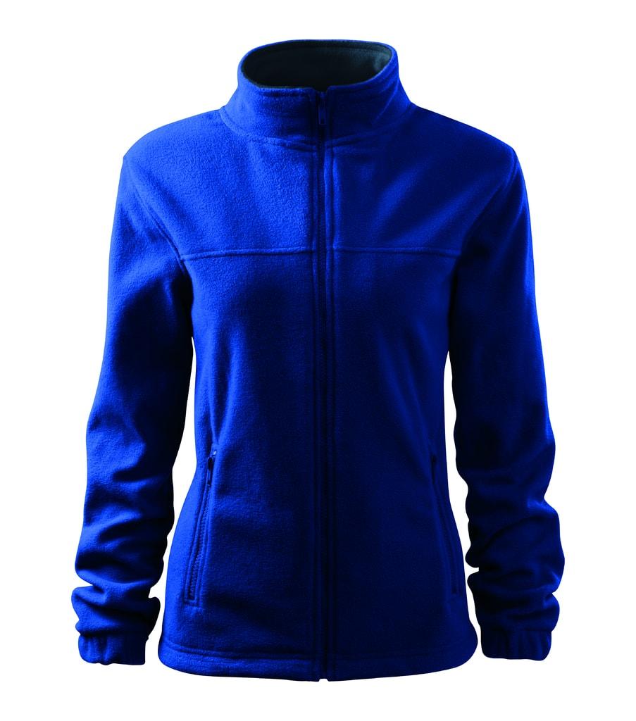 Dámská fleecová mikina Jacket - Královská modrá | L