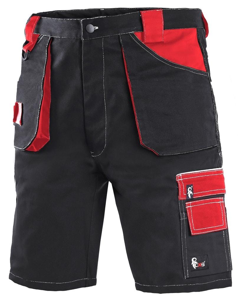 ... Pracovní kraťasy ORION DAVID Černá   červená 762cc8509f