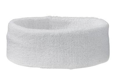 Sportovní čelenka MB042 - Bílá