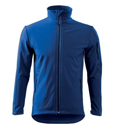 Pánská softshellová bunda Jacket - Královská modrá | XXXL