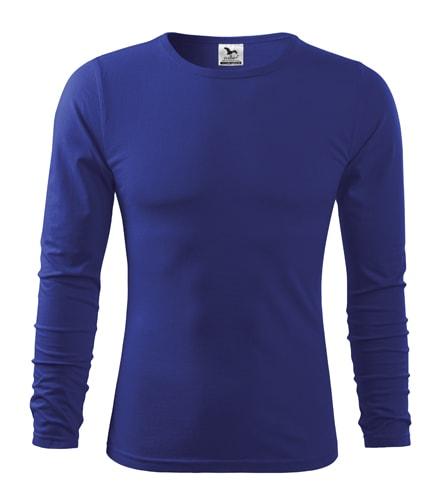 Pánské tričko s dlouhým rukávem Fit-T Long Sleeve - Královská modrá | S