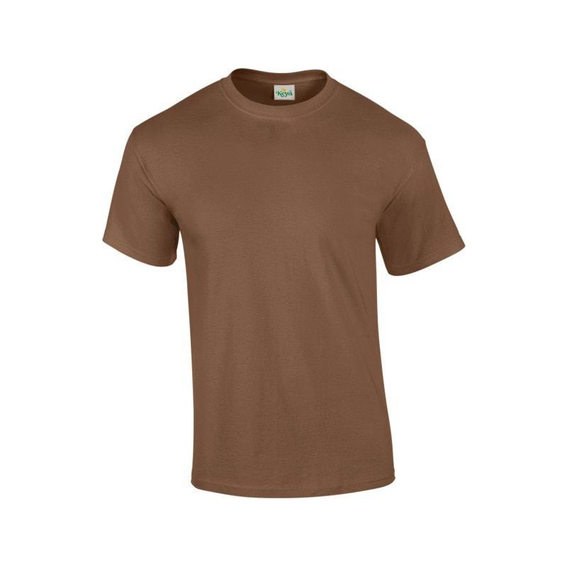 Pánské tričko ECONOMY - Hnědá | S