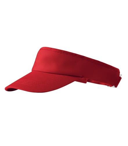 Sportovní kšilt Sunvisor Adler - Červená | uni