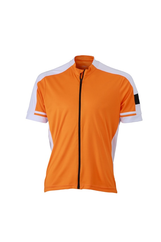 Pánský cyklistický dres JN454 - Oranžová | L