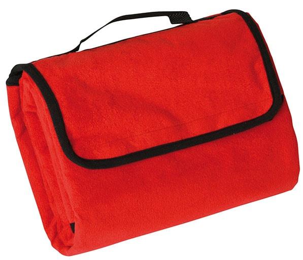 Pikniková deka 130x150 cm JN953 - Červená | 130 x 150 cm