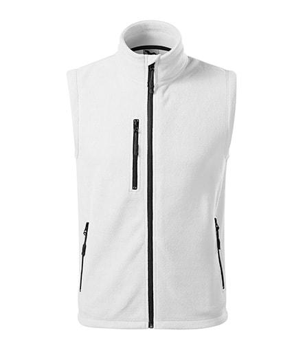 Fleecová vesta Exit - Bílá   XL