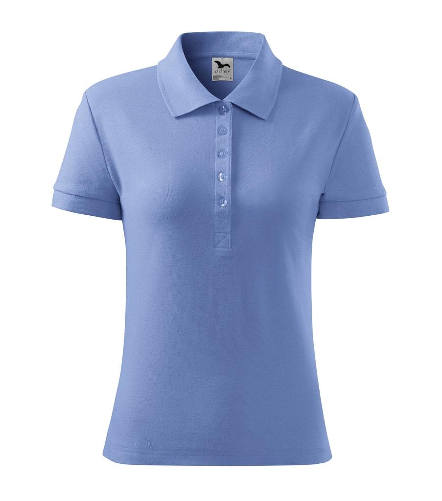 Dámská polokošile Cotton - Nebesky modrá | M