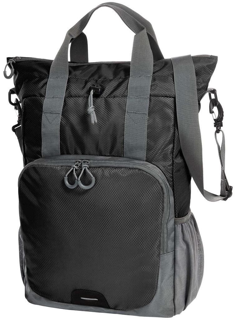ec7dc180d4a Víceúčelový batoh a taška 2v1 - Černá