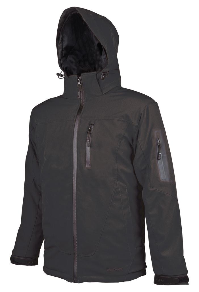 Zimní pánská softshellová bunda Spirit Winter - Černá | XXXL