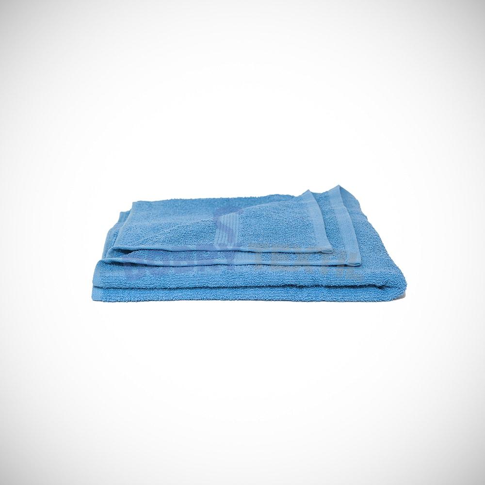 Reklamní ručník 50x100 - Světle modrá | 50 x 100 cm