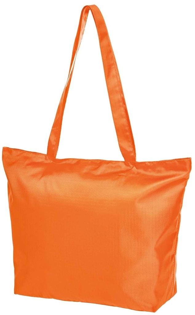 Skládací nákupní taška STORE - Oranžová