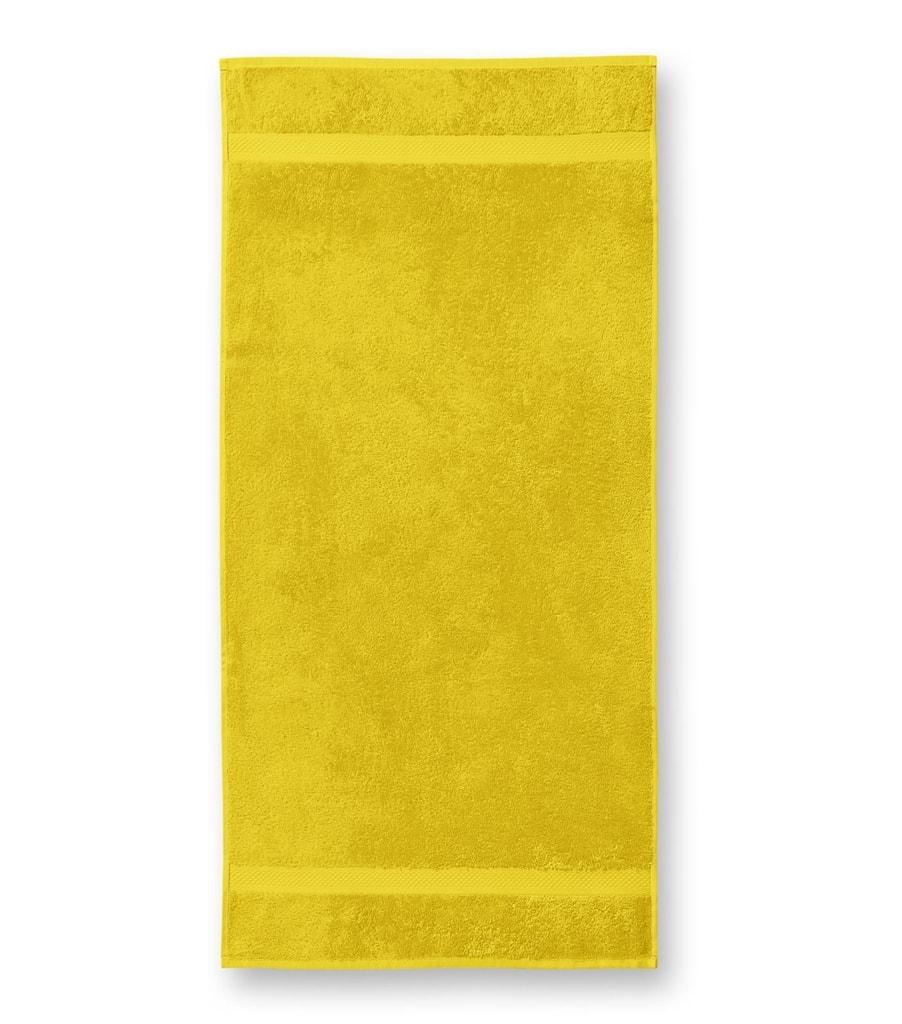 Ručník Terry Towel - Žlutá | 50 x 100 cm