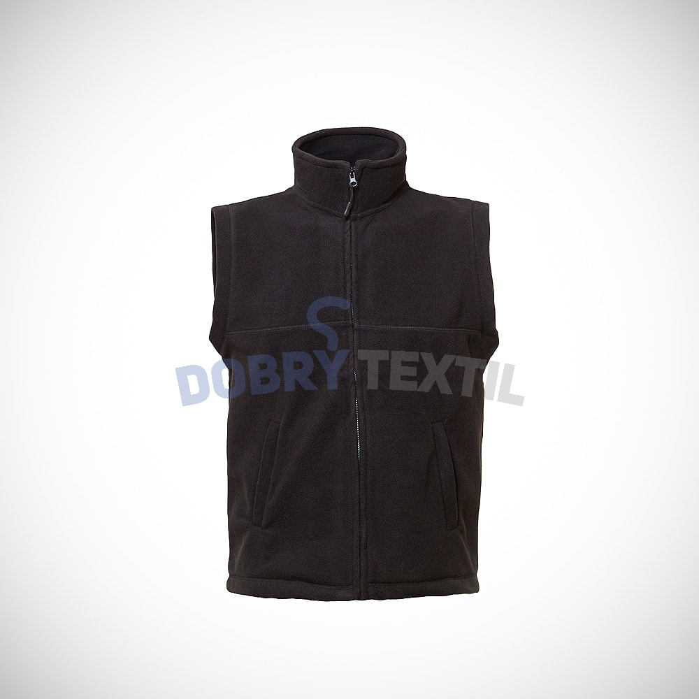 Fleecová vesta - Černá | L