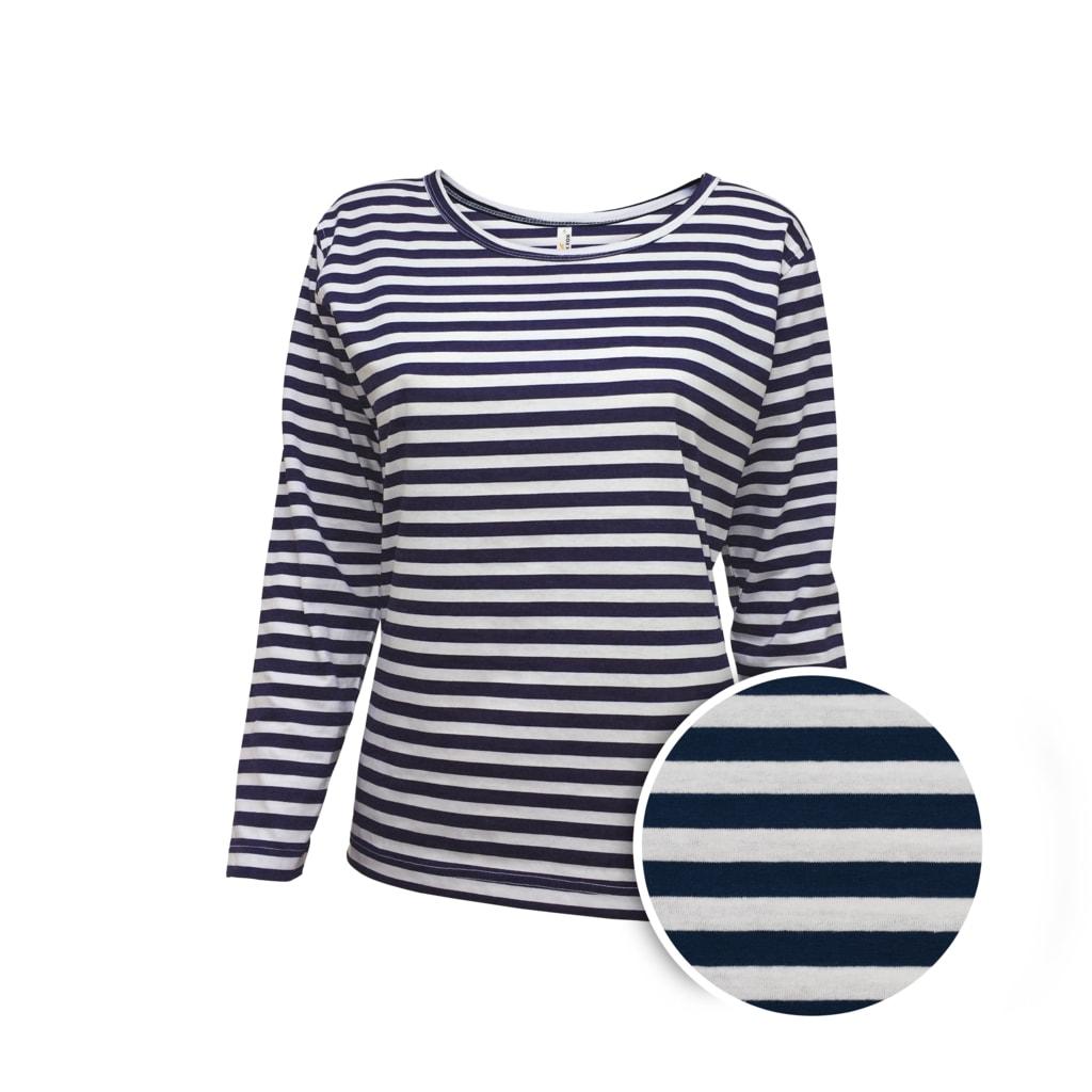 Dámské námořnické tričko s dlouhým rukávem - S 5f69a67ea4