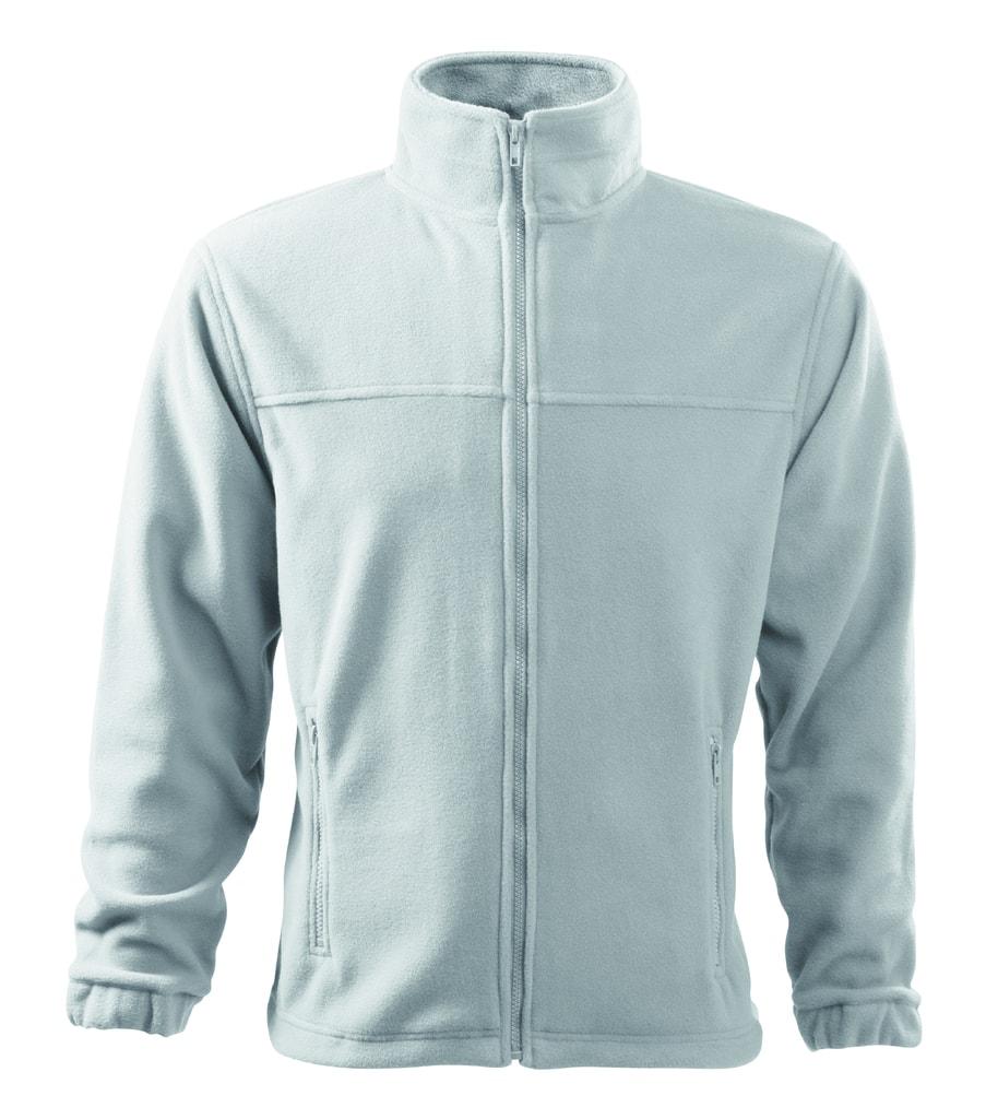 Pánská fleecová mikina Jacket - Bílá | XXL