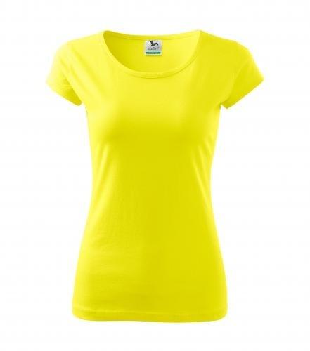 Dámské tričko Pure - Citrónová | S