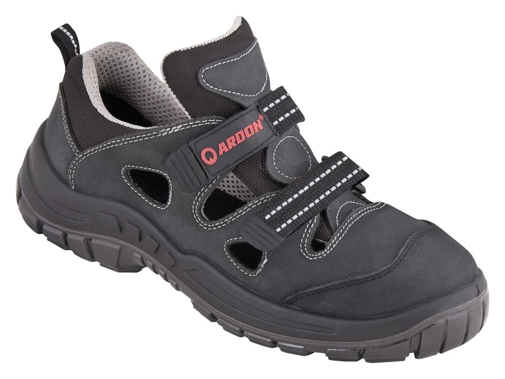 Pohodlné pracovné sandále s ľahkou špicou - DobrýTextil.sk ba040be76d