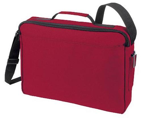 Velká taška na dokumenty BASIC - Červená