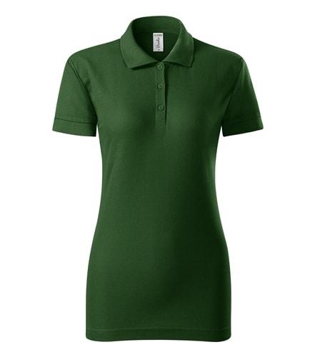 Dámská pique polokošile Joy Adler - Lahvově zelená   L