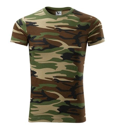 Pánské maskáčové tričko Adler - Maskáčová hnědá | XL