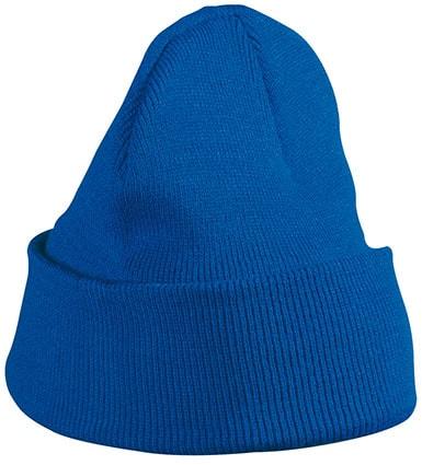 Zimní čepice Classic MB7500 - Královská modrá