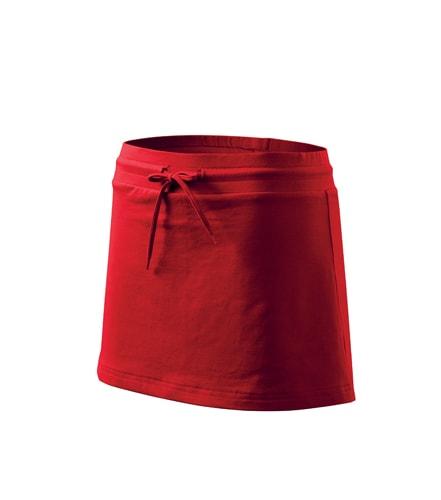 Dámská sukně Two in one - Červená | XL