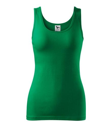 Dámské tílko - Středně zelená | S