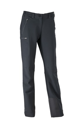 Dámské elastické outdoorové kalhoty JN584 - Černá | XL
