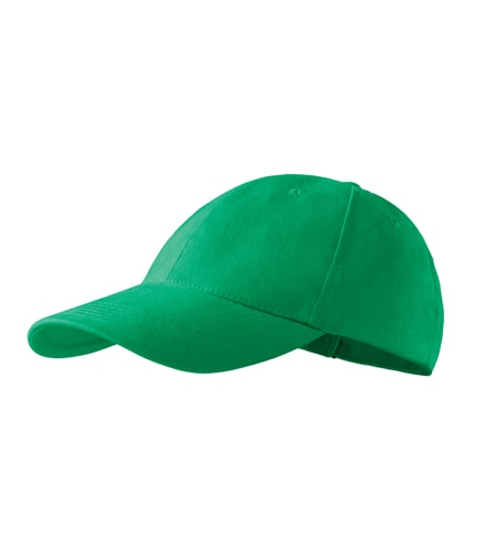 Kšiltovka Adler 6P - Středně zelená | uni