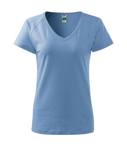 Dámské tričko Dream - Nebesky modrá | S