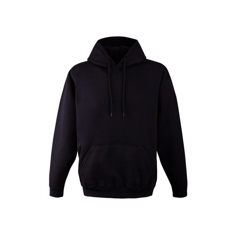 Mikina s kapucí klokanka NEW - Černá | M