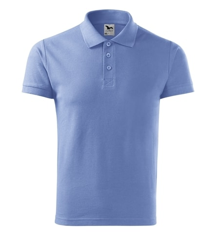 Pánská polokošile Cotton - Nebesky modrá | M