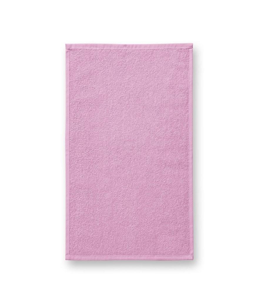Ručník Terry Hand Towel - Růžová | 30 x 50 cm