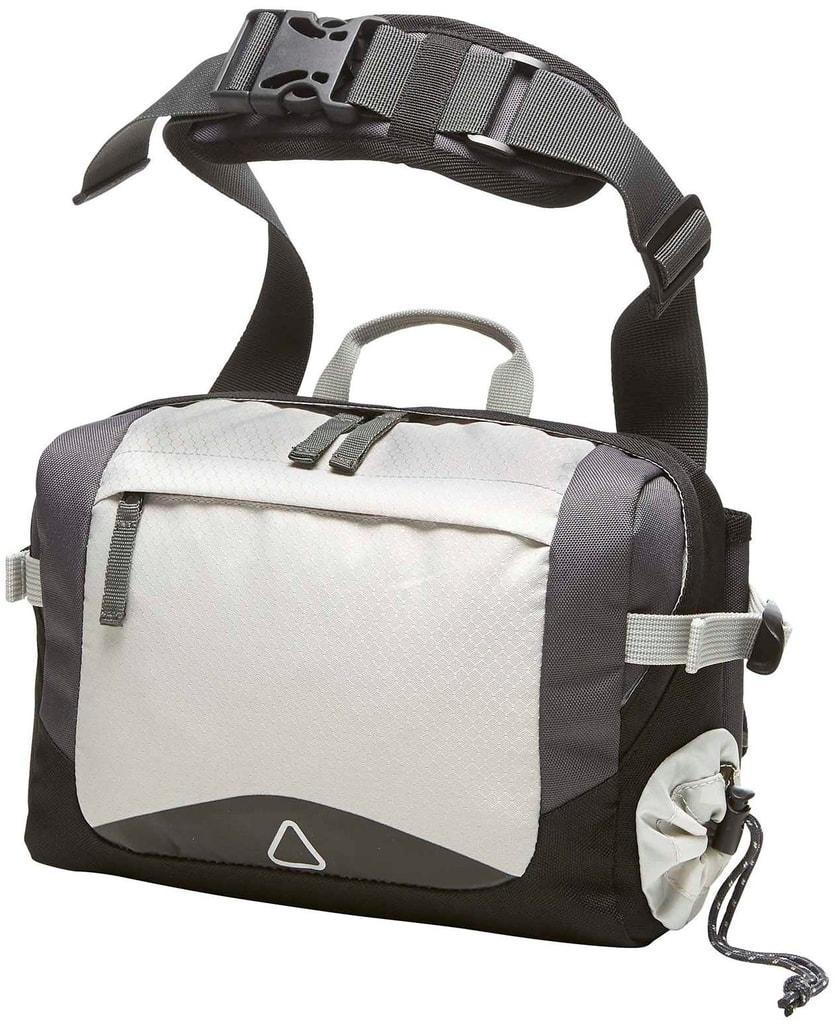 Sportovní taška přes rameno ADVENTURE - Světle šedá