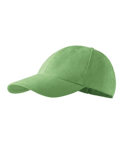 Kšiltovka Adler 6P - Trávově zelená | uni