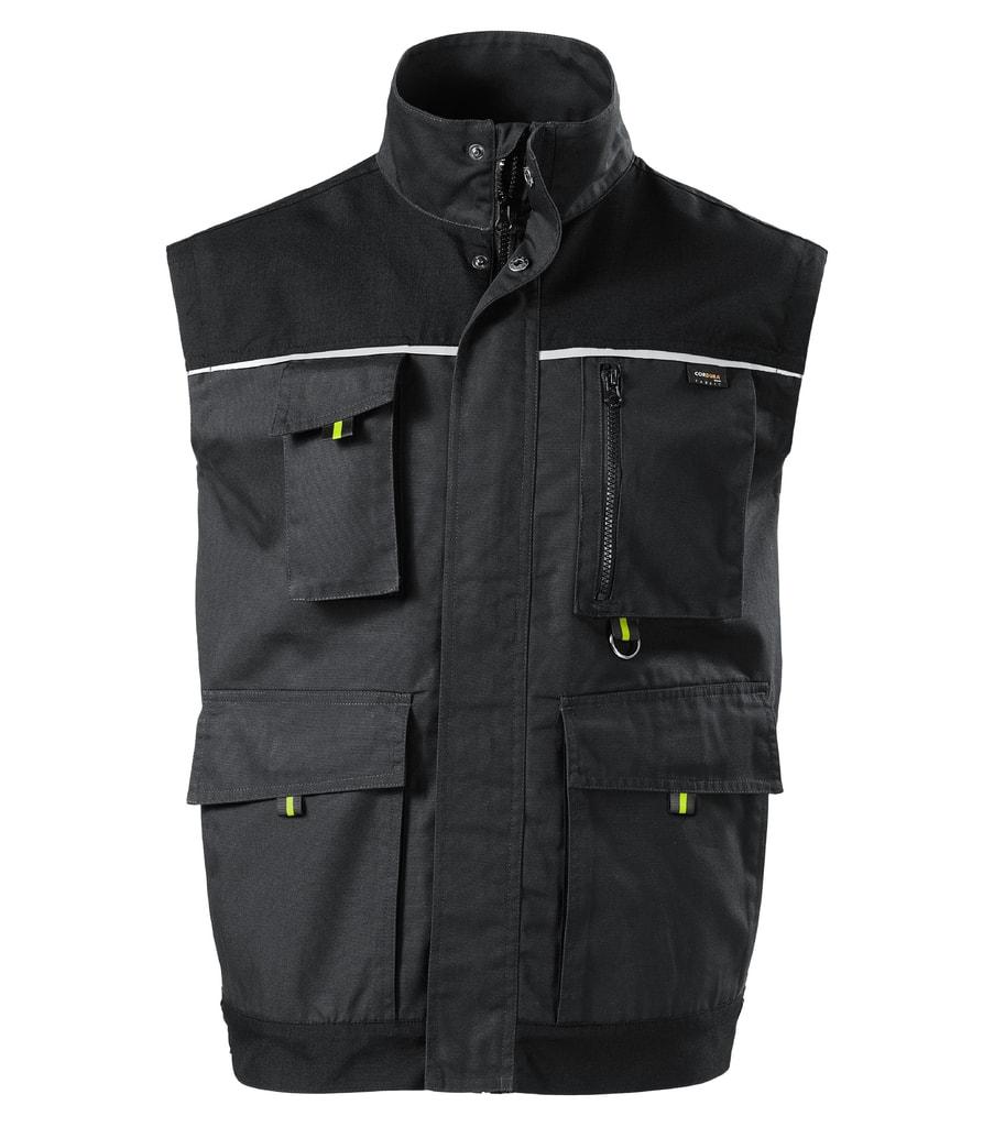 Pracovní vesta RANGER - Ebony gray   XL