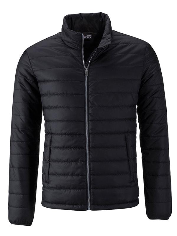 Pánská jarní bunda JN1120 - Černá | S