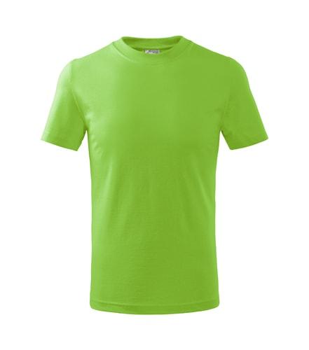 Dětské tričko Basic Adler - Apple green | 158 (12 let)