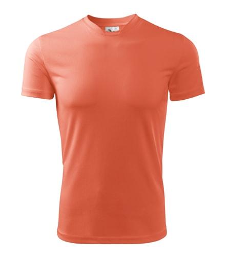 Dětské sportovní tričko Adler Fantasy - Neonově oranžová | 122 (6 let)
