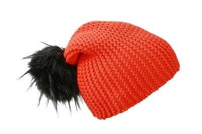 Myrtle Beach Zimná pletená čiapka MB7984 - Grenadina / černá