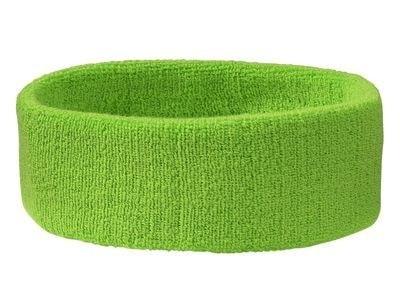 Sportovní čelenka MB042 - Limetkově zelená