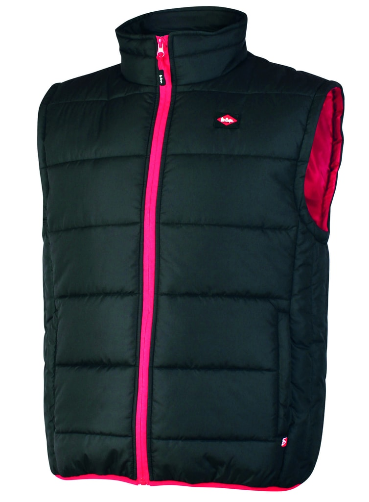 Pánská zateplená vesta Lee Cooper - XL