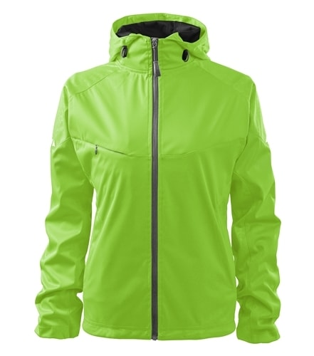 Lehká dámská softshellová bunda COOL - Apple green   S