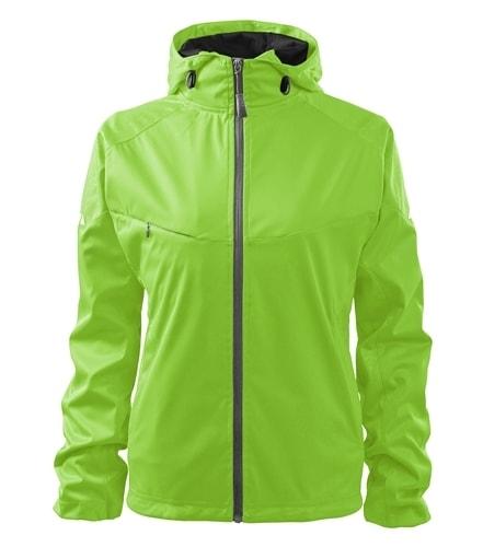 Lehká dámská softshellová bunda COOL - Apple green   XXL