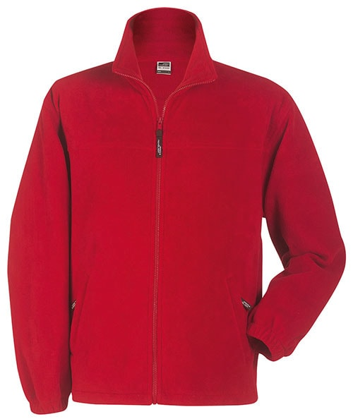 Dětská fleece mikina JN044k - Červená | XL