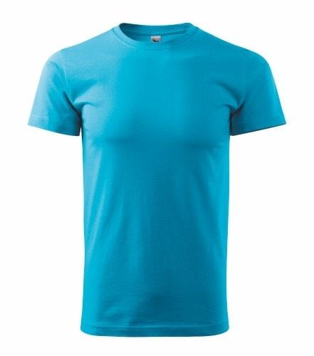 Pánské tričko HEAVY - Tyrkysová | XL