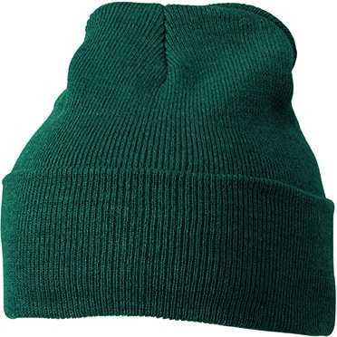 Zimní čepice Classic MB7500 - Tmavě zelená