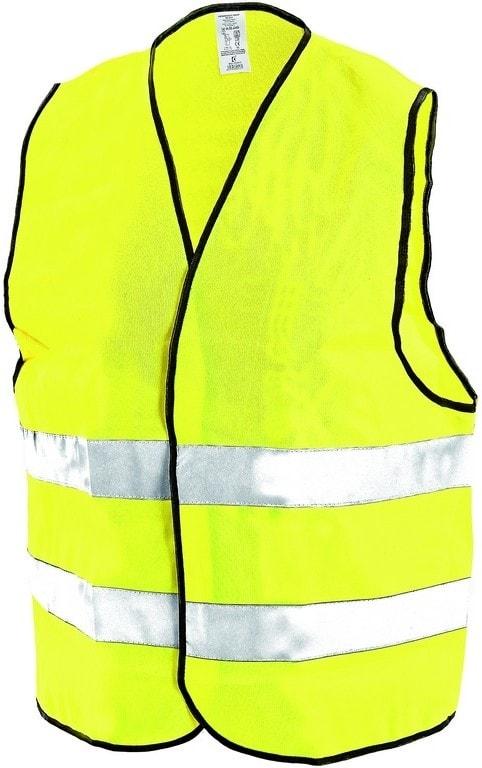 Reflexní vesta GUSTAV - Žlutá | XXL/XXXL