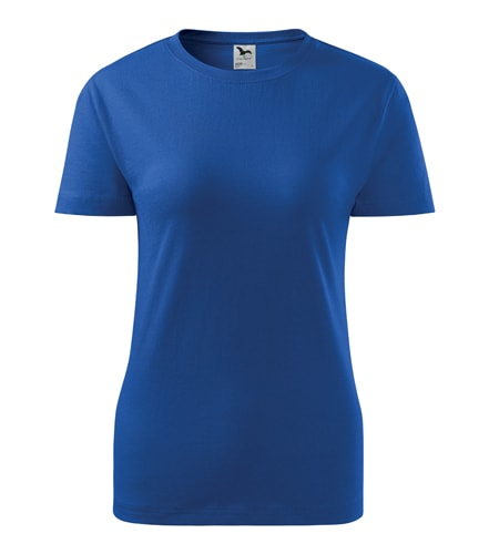 Dámské tričko Basic - Královská modrá | XXL