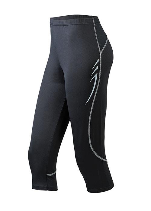 Dámské běžecké kalhoty JN437 - Černá | XXL